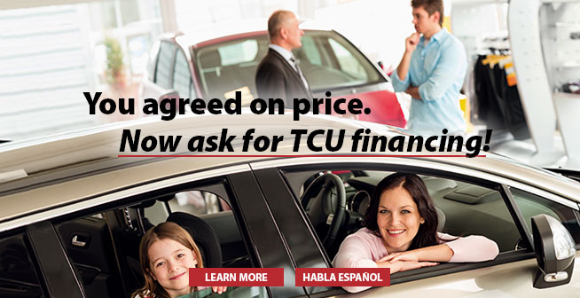 You agreed on price. Now ask for TCU financing!